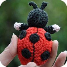 Crochet pattern ladybird