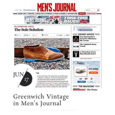 A sincere thank you goes out to our friends at Men's Journal for the article on our @Tamas Pomazi resole services. Access the write-up through http://greenwichvintage.us/press/mens-journal  #wiwt #ootd #ootn #ootw #mens #menswear #fashion #mensjournal #blog #solesolution #coloredsoles #resole #restore #teamgreenwich #teamgreenwichin2013 #mastercobbler #midwestgentleman #madeinusa #madeinamerica #mpls #minneapolis #twincities #stpaul #minnesota #stepyourgrownmangameup