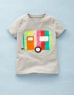 mini boden trailer applique inspiration....need to make this in boy colors!