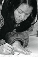 Annie Pootoogook Inuit artist biography and portfolio Annie Pootoogook, Inuit Art, Canadian Artists, Creative People, New Media, Portal, Crafting, Events, News