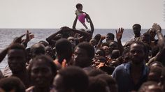 More than 900 migrants were rescued from boats in the Mediterranean in the space of only a few hours Saturday morning, according to the humanitarian organization Doctors Without Borders, or Medecins Sans Frontieres.