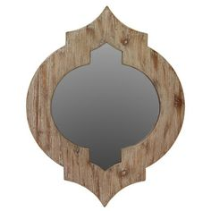 @Overstock.com - Urban Trends Collection Brown Wooden Mirror - Update your home with this becoming mirror from Urban Trends Collection. This appealing piece highlights a wood construction, and classic detailing that is sure to add style to any living space.  http://www.overstock.com/Home-Garden/Urban-Trends-Collection-Brown-Wooden-Mirror/8229195/product.html?CID=214117 $44.99