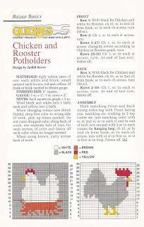 Crochet con amor: Accesorios para la cocina