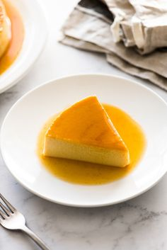 An easy flan recipe made with only 5 simple ingredients! This creamy custard dessert is topped with rich caramel and is very popular in Mexico, Spain and Latin America. It's a showstopper dessert that is sure to impress friends and family. Flan Dessert, Custard Desserts, Easy Cheesecake Recipes, Dessert Recipes, Easy Flan Recipe, Yummy Treats, Delicious Desserts, Latin Food, Latin America