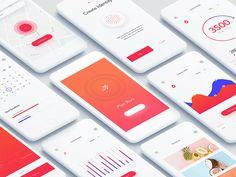 iOS Fitness App Dashboard