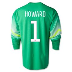 2e5ef34c6 Nike HOWARD LS Goleiro Goalkeeper Jersey Goalie Gear