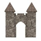 3d Render Of Medieval Building Royalty Free Stock Photo, Pictures, Images And Stock Photography. Image 13745880.