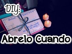 DIY: Regalo Cartas Abrelo Cuando.. - TwoMake - YouTube