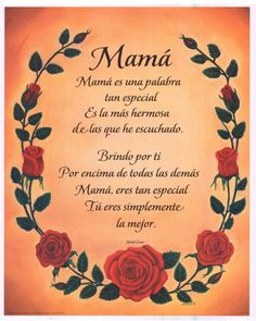 poems for mom in spanish and english - Google Search