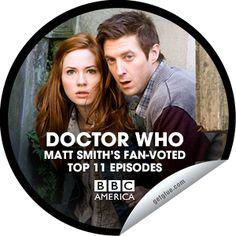 Doctor Who 50th Anniversary: Matt Smith's Top 11. #6