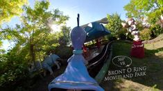 Movieland Park Bront O Ring 360° VR POV Onride O Ring, Vr, Riding Helmets, Make It Yourself