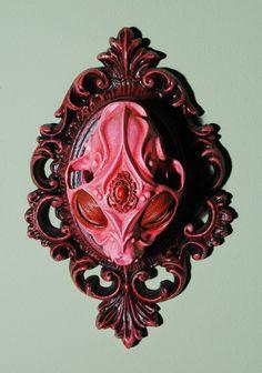 Haastyle Art - Chris Haas, Skull Wall & Shelf Sculptures