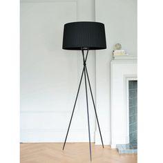 Click to zoom - Tripod floor light black