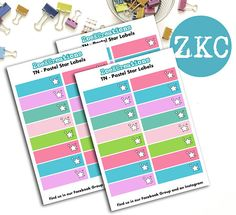 Label Planner Stickers  To Do Stickers  Fucntional Labels
