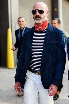 On the Street…Bandanas & Stripes, New York