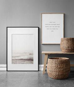 Tolles Poster mit Naturmotiv. Dieses Fotoposter, das das Meer mit Wellen zeigt, strahlt Ruhe aus. Mi...