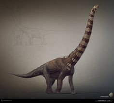 Puertasaurus. The Stomping Land. 03 by Swordlord3d on DeviantArt