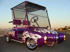 This 1950 Studebaker has got to be the best custom golf cart we've ever seen.
