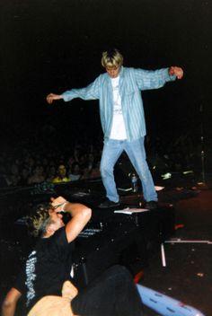 Kurt Cobain, 1992.