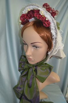 Civil War Reproduction Early 1860's Genuine by MissMarissasBonnets