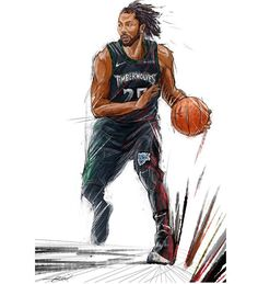 Basketball Art, Basketball Players, Nba Wallpapers, Nba Stars, Derrick Rose, Design Case, Nba Players, Goat, Minecraft