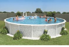 Above Ground Pool Installation Guide Above Ground Pool Landscaping, Above Ground Swimming Pools, In Ground Pools, Above Ground Pool Fence, Sidewalk Landscaping, Landscaping Borders, Landscaping Trees, Landscaping Design, Installing Above Ground Pool