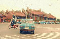 1970s, Xingtian Temple, Taipei #Taiwan 台北 行天宮