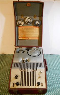 Vintage WEBSTER CHICAGO Electronic Memory Wire Recorder Model 80-1 / RMA 375 #WEBSTER