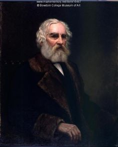 This portrait of Henry Wadsworth Longfellow was commissioned by Bowdoin College where Longfellow studied and taught.  This is one of the last portraits done of Longfellow for which he sat in person done in 1881. Item # 16467 on Maine Memory Network