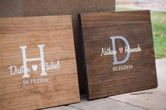 Rustic Wooden Guest Book Alternative by The Rustic Earth