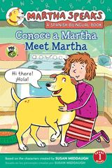 Meet Martha the talking dog from PBS's hit TV show. This bilingual Spanish/English Level 1 Reader, with languages set in two easy-to-read colors, includes bonus flash cards.