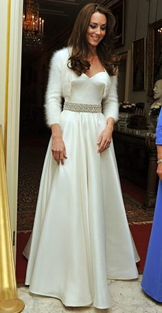 Love when brides do dress changes!!!  Kate Middleton was TDF in McQueen again.