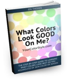 Free Download - Discover what colors look good on you using my new color system Your Color Style - this is for ALL skin tones.