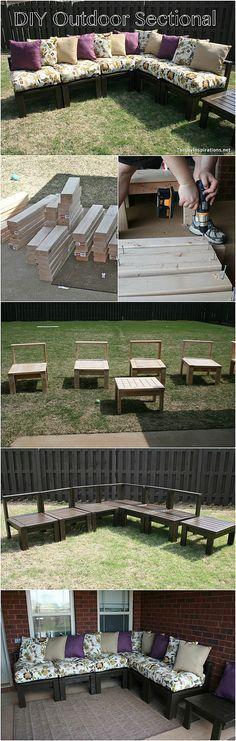 DIY-Outdoor Sectional Tutorial #diy #outdoorliving #dan330 http://livedan330.com/2015/04/14/diy-outdoor-sectional/