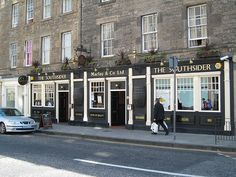 Ahhh the site of the beginning of an incredible adventure ....The Southsider...Edinburgh, Scotland