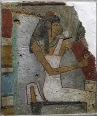 Ancient Egyptian Weaver