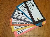 Comprehension 2- Students bring these reading comprehension strategies to the reading rug. While the teacher is reading if the student wants to make a prediction they hold up the prediction card. If they want to make a connection they hold up that card. This helps students remember the strategies and it is more exciting than simply raising your hand.