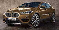 BMW X2 Tries On A Production-Spec Suit, Looks Sleek #BMW #BMW_X2