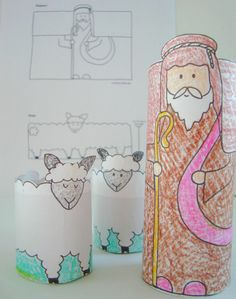 bible crafts | Good Shepherd Learning Activity and Craft
