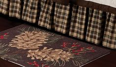 Lookout Mountain Hooked Rug