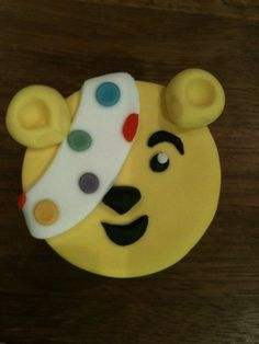 Pudsey Bear Cupcakes for a Children In Need Bake Sale  Cake by Tina