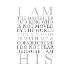 I pray our daughter grows to learn and lean on this truth! <3