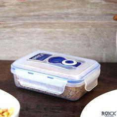 Roxx Rectangular Vacuum Storage Container 0.35 L