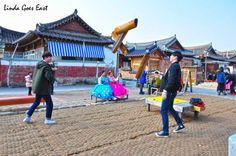 Traditional #Korean Yutnori game in #Jeonju, South Korea