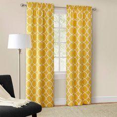 mainstays calix fashion window curtain set of 2 walmartcom - Walmart Curtains
