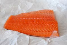 cup and table: broiled salmon