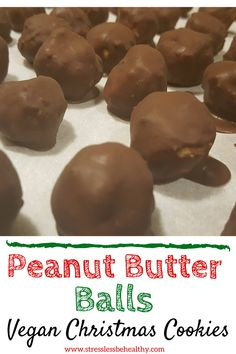 Looking for a healthy peanut butter balls no bake recipe that's cleaning eating approved, easy to ma Peanut Butter Balls, Healthy Peanut Butter, Peanut Butter Recipes, Healthy Vegan Desserts, Good Healthy Snacks, Healthy Kids, Dairy Free Recipes, Baking Recipes, Vegan Recipes