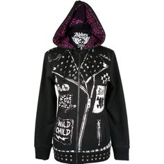 I have another of the jacket style hoodies but I really love this one, I want it   Abbey Dawn jacket