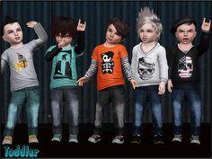 Toddler Fashion Set 1 by ShojoAngel - Sims 3 Downloads CC Caboodle