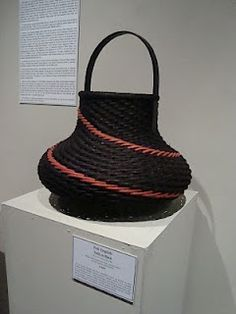 Catching The Moon: Weaving My Life: Basketry: Traditional To Contemporary Woven Art at the Pickens Museum by Patti English